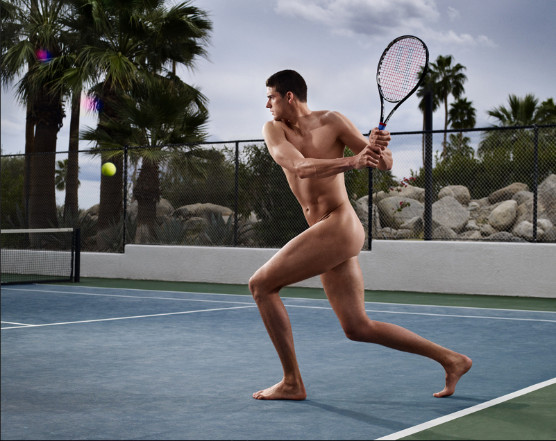 John Isner ESPN Body Issue,  Alan Clarke